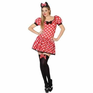 Muis/mouse verkleed kostuum/jurk voor dames