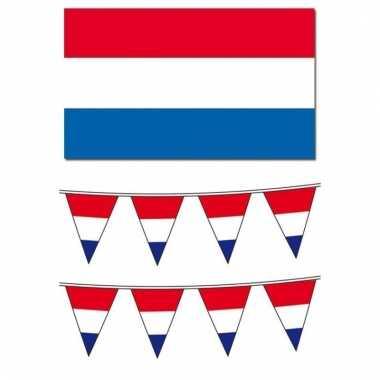 Nederlandse vlaggen pakket