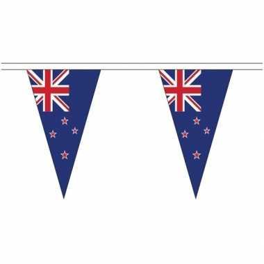 Nieuw zeeland landen punt vlaggetjes 5 meter