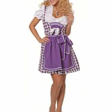 Oktoberfest jurkje paars