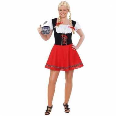 Zwart Met Rood Jurkje.Oktoberfest Jurkje Zwart Met Rood Multinetwerk Nl