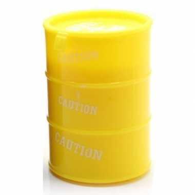 Olievat met geel slijm 130 gram