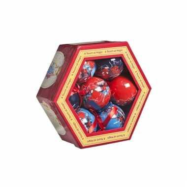 Onbreekbare spiderman kerstballen