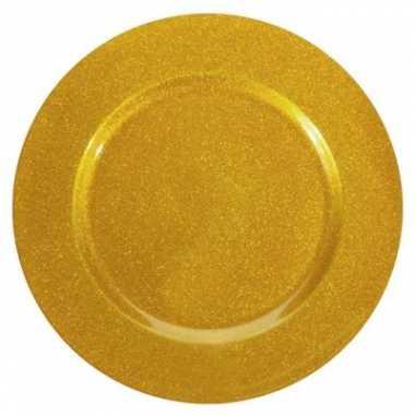 Onderzetbord gouden glitters