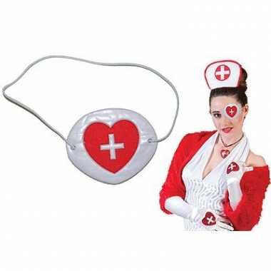 Ooglapjes voor verpleegster outfit