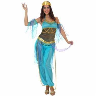 Oosterse prinses kostuum blauw