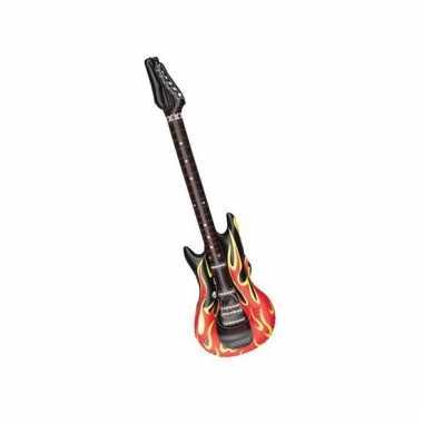 Opblaas gitaar 106 cm