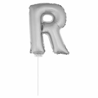 Opblaas letter r folie ballon