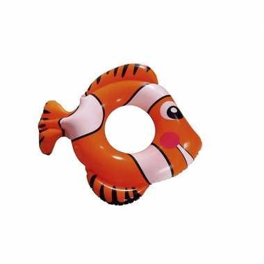 Opblaasband vis rood 79 cm