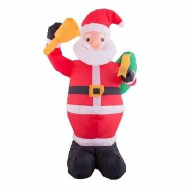 Opblaasbare kerstman 120 cm