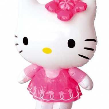 Opblaasbare poes hello kitty 46 cm