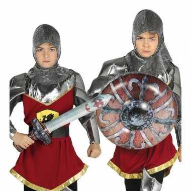 Opblaasbare ridder set