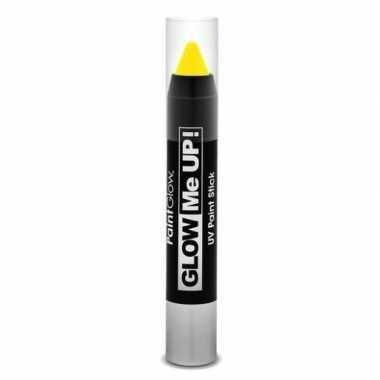 Oplichtende make-up stift geel