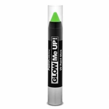 Oplichtende make-up stift groen