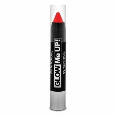 Oplichtende make-up stift rood