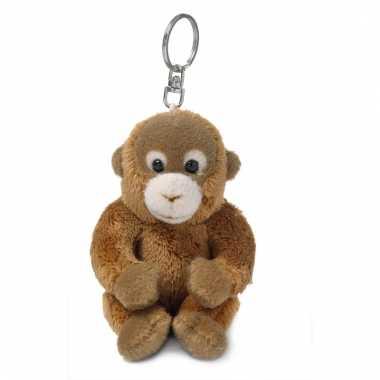 Orang oetan knuffeltje aan sleutelhanger