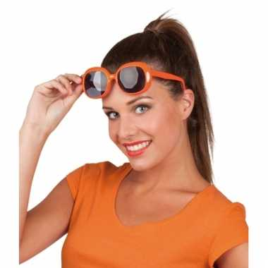 Oranje brillen jacky model