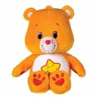 Oranje care bears 22 cm