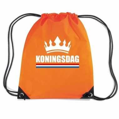 Oranje koningsdag rugzak