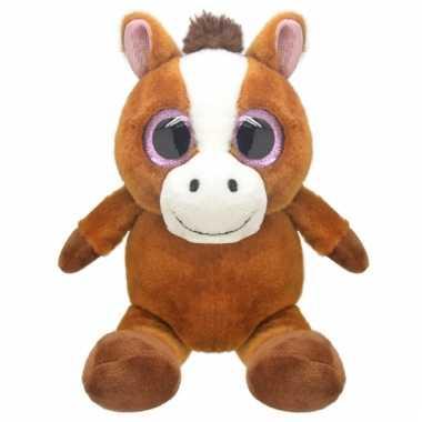 Paard knuffeltje 16 cm