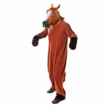 Paarden kostuums jumpsuit