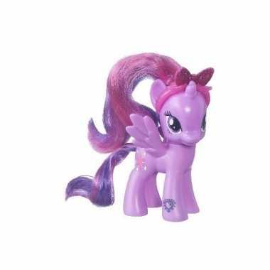 Paars my little pony speelfiguur 8 cm