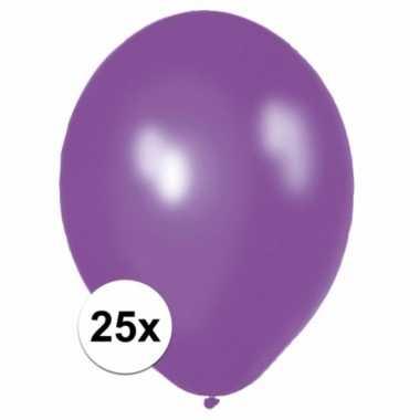 Paarse ballonnetjes 25 stuks