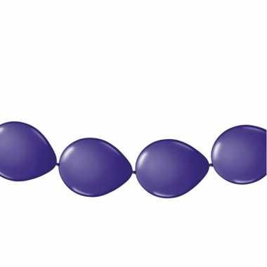 Paarse ballonslingers 3 meter