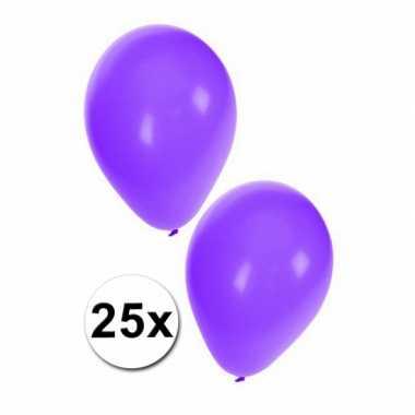Paarse feest ballonnen 25x