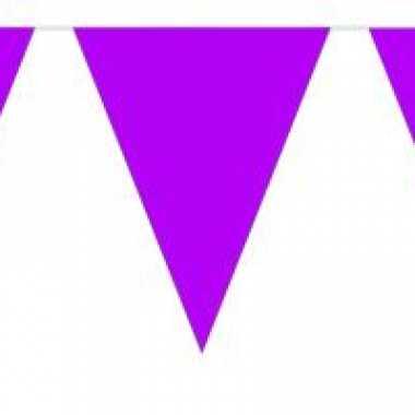 Paarse vlaggenlijnen