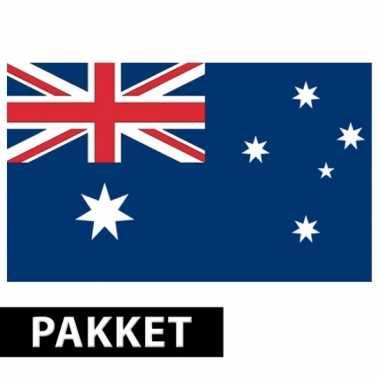 Pakket australie feestartikelen