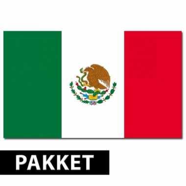 Pakket mexico feestartikelen