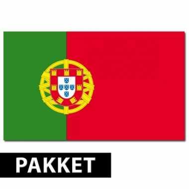 Pakket portugal feestartikelen
