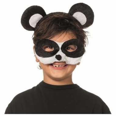 Panda masker en diadeem voor kids