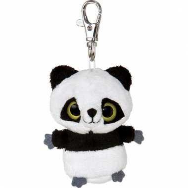 Panda sleutelhangertje 7,5 cm