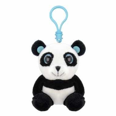 Panda sleutelhangertje 9 cm