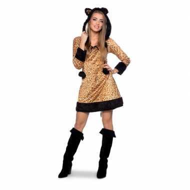 Panter dierenkostuum jurkje voor dames