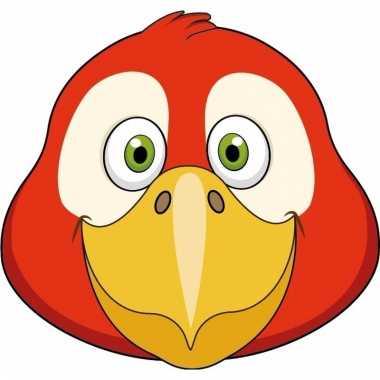 Papegaai maskertjes voor kinderen