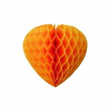 Papieren hart oranje crepe papier