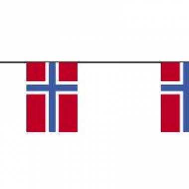 Papieren slinger noorwegen 4 meter