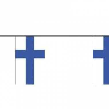 Papieren vlaggetjes finland