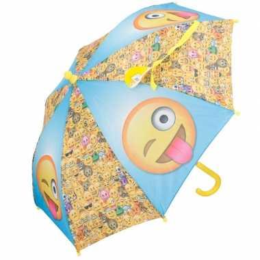 Paraplu van smileys