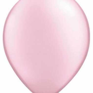 Parel roze qualatex ballonnen