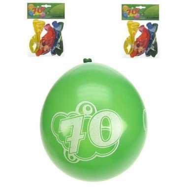 Party ballonnen 70 jaar