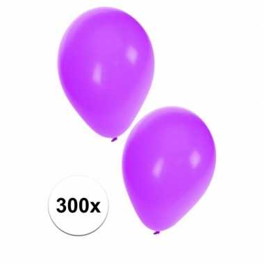 Party ballonnen paars, 300 st