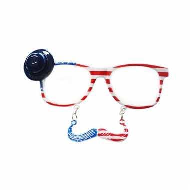 Party snor bril amerika
