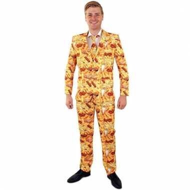 Patat print verkleedkleding voor heren