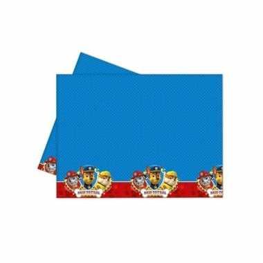 Paw patrol feest tafelkleed 120 x 180 cm