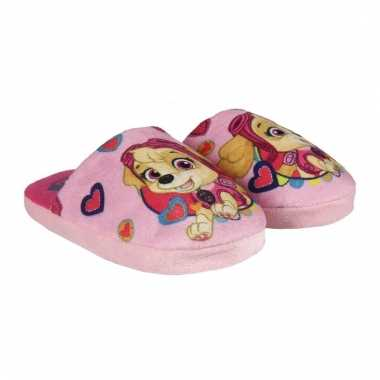 Paw patrol pantoffels voor meisjes