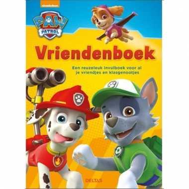 Paw patrol vrienden vragenboekje